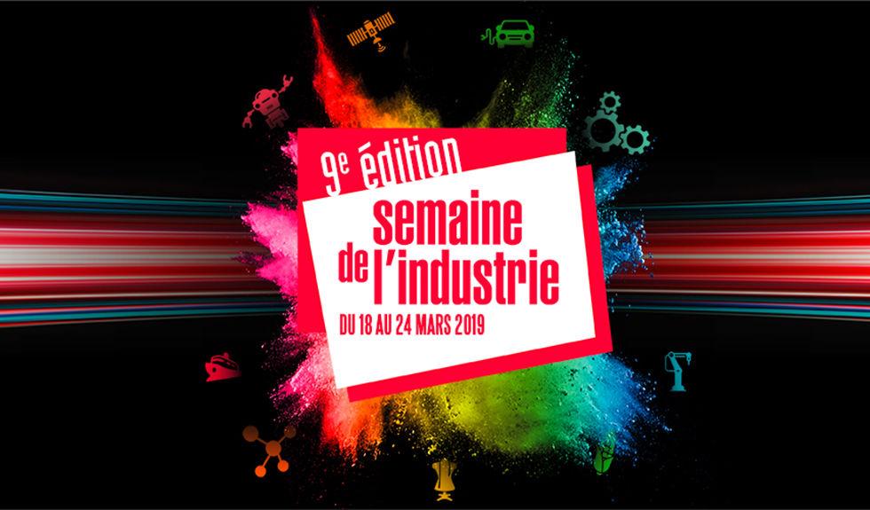 Logo de la semaine de l'industrie 2019